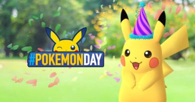 Pikachu con Gorro Festivo Pokémon Day en Pokémon GO