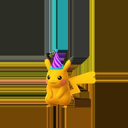 Pikachu Hembra Variocolor