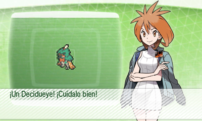 Decidueye Banco de Pokemon