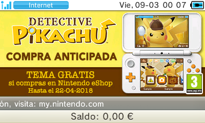Detective Piakchu: Compra anticipada eShop 3DS