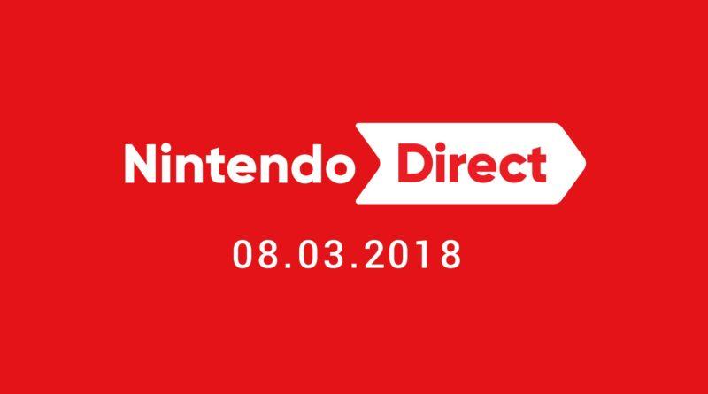 Nintendo Direct 08-03-2018