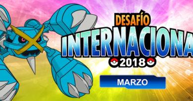 Desafío Internacional de marzo de 2018