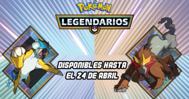 Pokémon Legendarios 2018 Abril Raikou y Entei