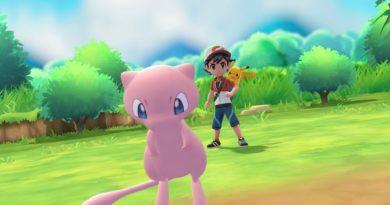 Mew en Pokémon: Let's Go, Pikachu! y Let's Go, Eevee!
