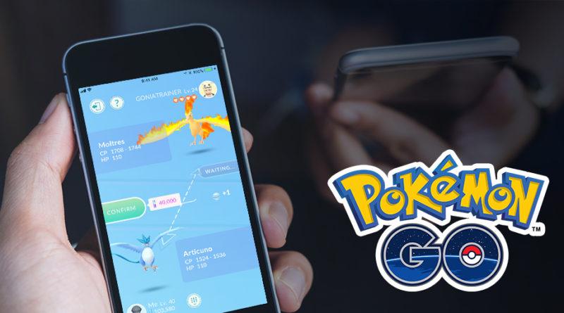 Intercambios Pokémon GO