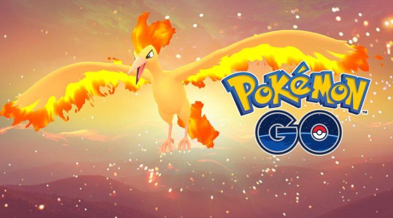 Moltres Pokémon_GO