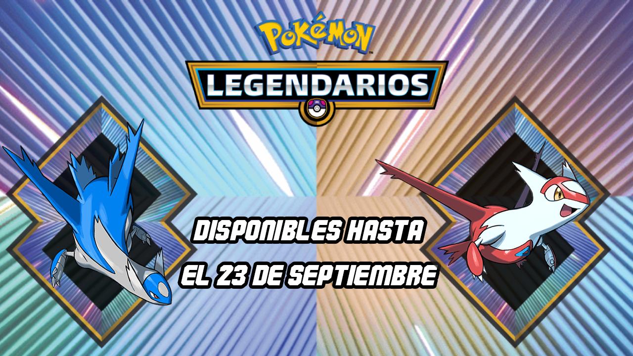 Pokémon Legendarios 2018 Septiembre