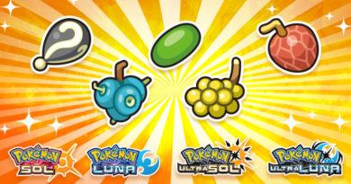 Bayas Pokémon Sol/Luna, Ultrasol/Ultraluna