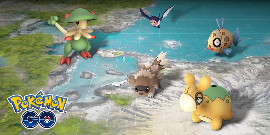 Hoenn Pokémon GO