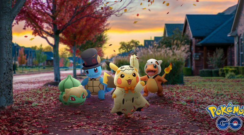 Pokémon GO Halloween 2019