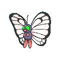 #012 Butterfree Shiny